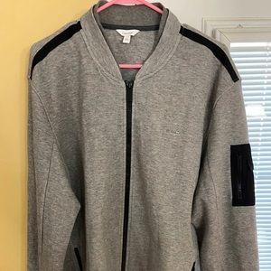 Men's Calvin Klein zip up jacket